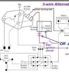 4 Wire Delco Alternator Wiring Diagram - Acdelco Wire Alternator Wiring Diagram on