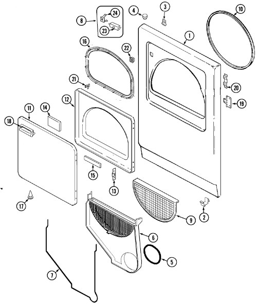 small resolution of admiral dryer wiring diagram download admiral dryer parts diagram 19 e