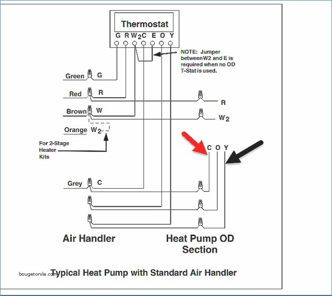 heil air handler wiring diagram decade counter circuit using 7490 conditioner sample collection typical 4 wire installation inspirational for a