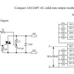 Allen Bradley 100 D140 Contactor Wiring Diagram Bending Moment For Triangular Distributed Load Schematics Library 855t Bcb Collection 1769 Oa16 0a16 Pactlogix Micrologix Output