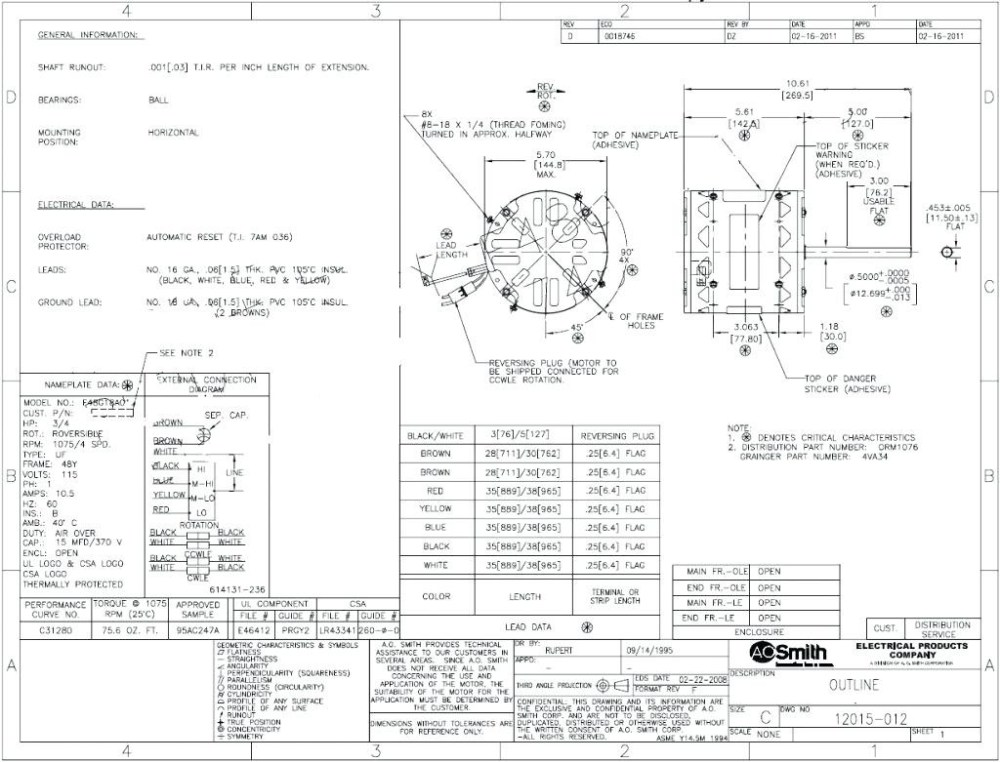 medium resolution of ao smith boat lift motor wiring diagram collection ao smith blower motor wiring diagram 1