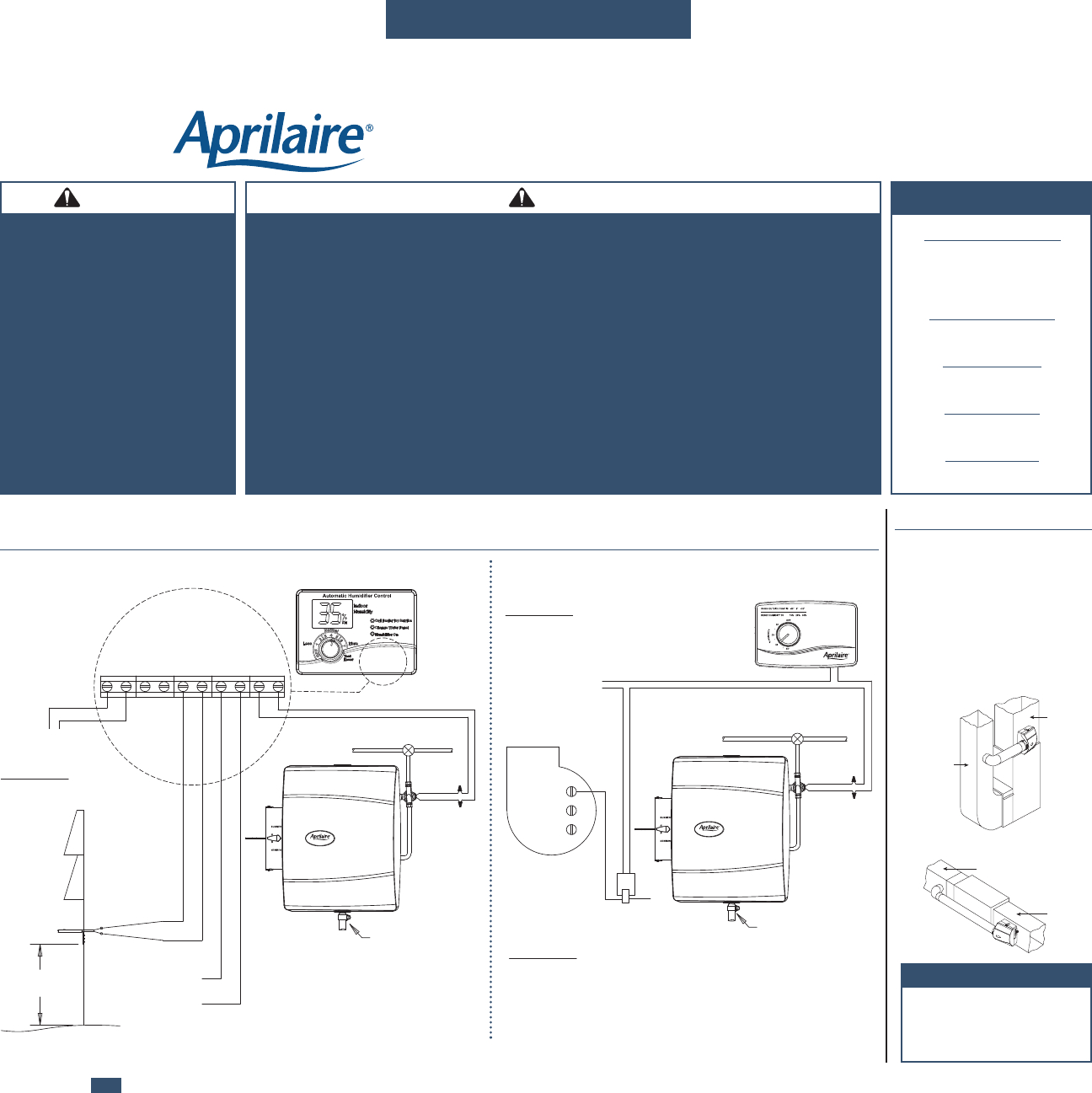 aprilaire 600 humidistat wiring diagram emg hz humidifier download