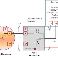 Central Heating S Plan Wiring Diagram 1992 Toyota Camry Exhaust System Aube Rc840t 240 Download