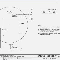 Baldor Single Phase 230v Motor Wiring Diagram Central Heating Pump Overrun 1.5 Hp Collection | Sample