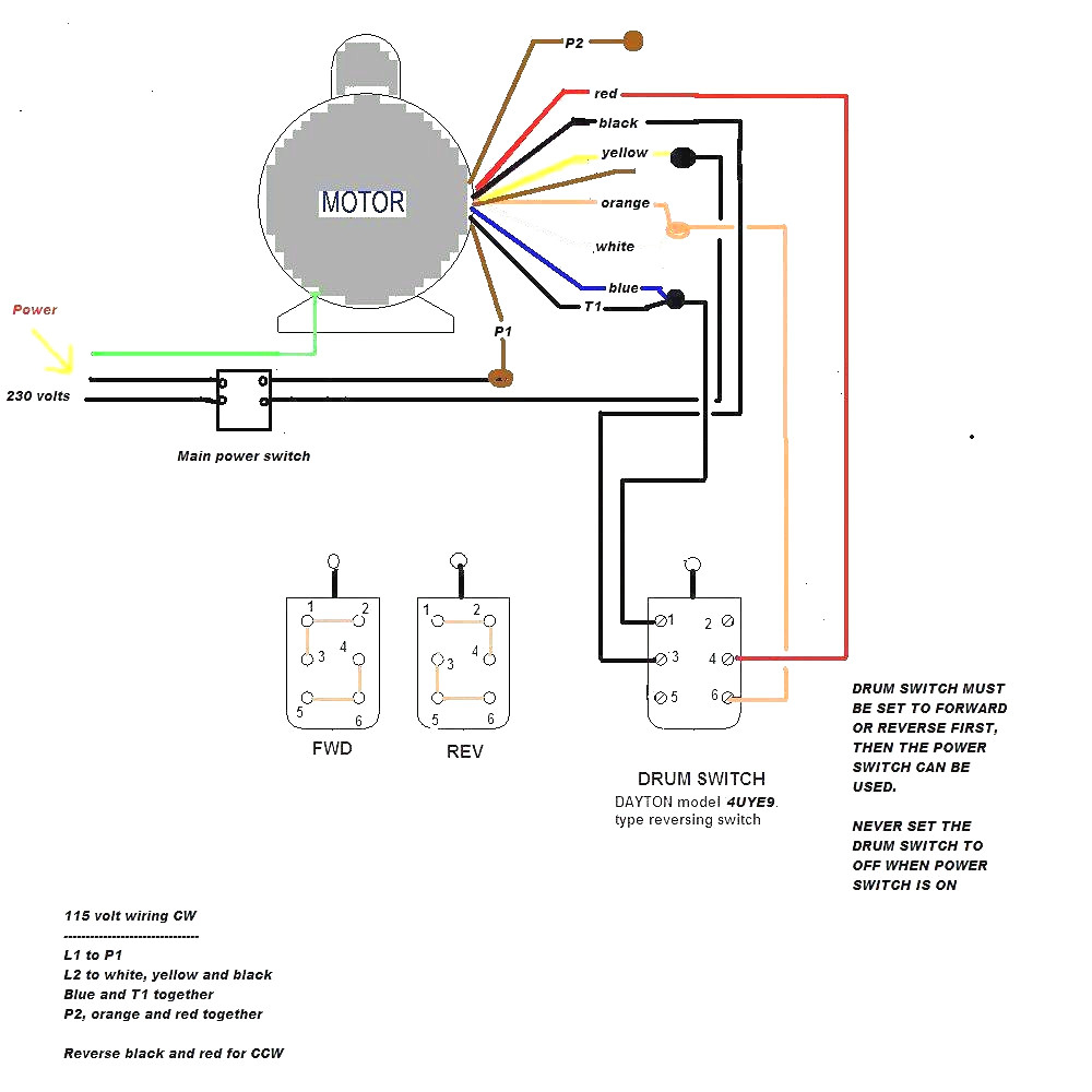 hight resolution of baldor wiring diagram 115 230 manual e book drum switch wiring diagram 208 source 2 pole 3