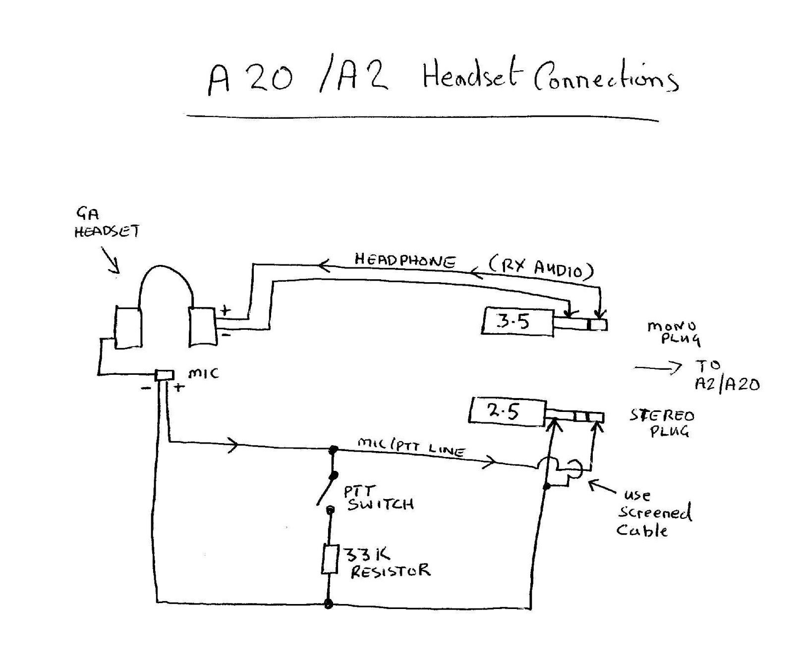headphone with mic wiring diagram how to wire up spotlights bose a20 collection sample
