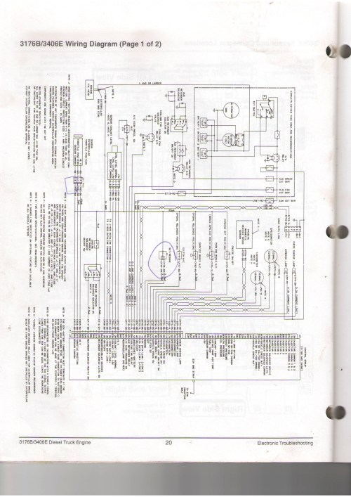 small resolution of cat 3126 engine diagram wiring diagram page cat 3126 engine sensor diagram