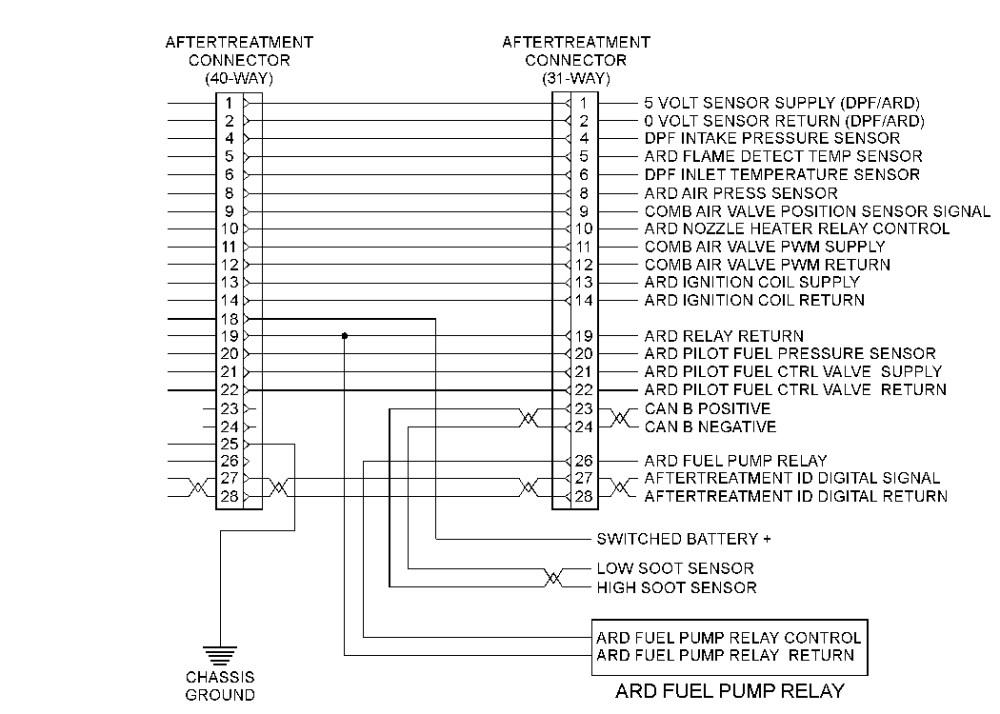 Cat 3126 Fuel Shut Off Solenoid Wiring Diagram - cat c7
