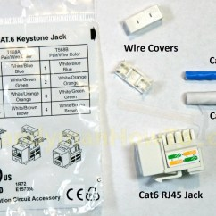 Cat6 Faceplate Wiring Diagram Et M Me 5 Lettres Keystone Jack Collection