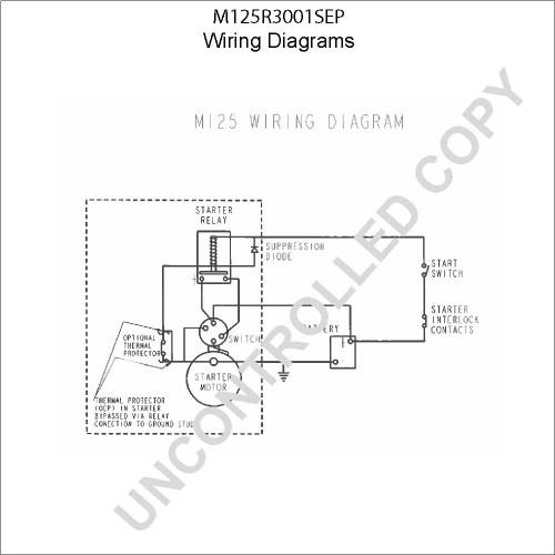 small resolution of caterpillar starter wiring diagram