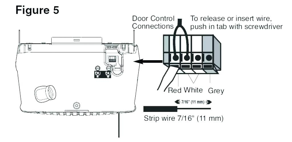 commercial door openers wiring diagram