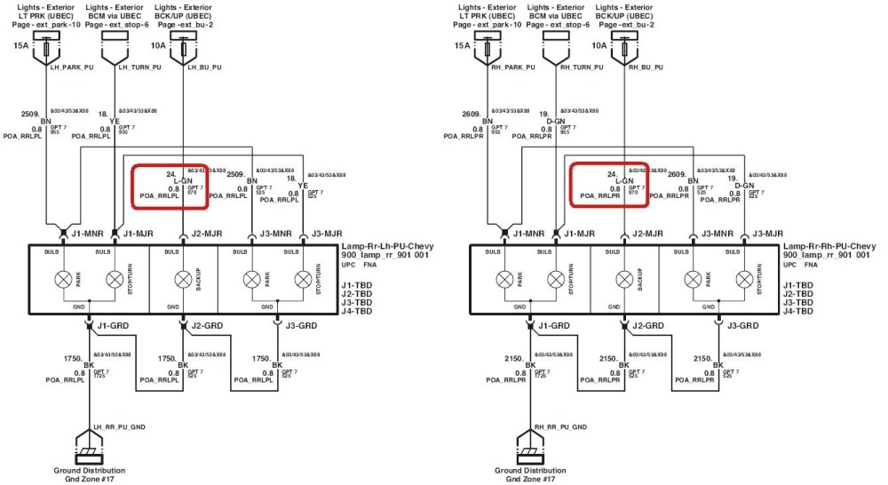 medium resolution of gm light wiring wiring diagram mega gm tail light wiring diagram
