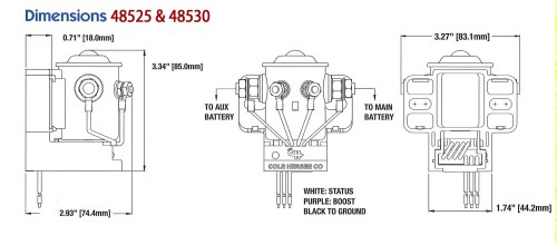 small resolution of cole hersee solenoid wiring diagram download diagram cole hersee 200a smart battery isolator ac dc