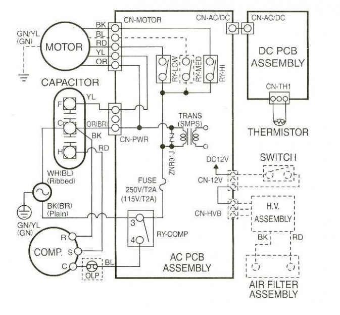 [DIAGRAM] Coleman Evcon Furnace Diagram FULL Version HD