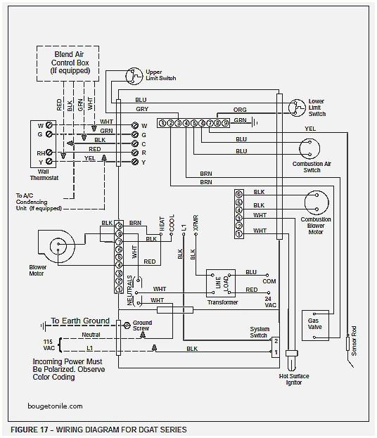 gas furnace transformer wiring