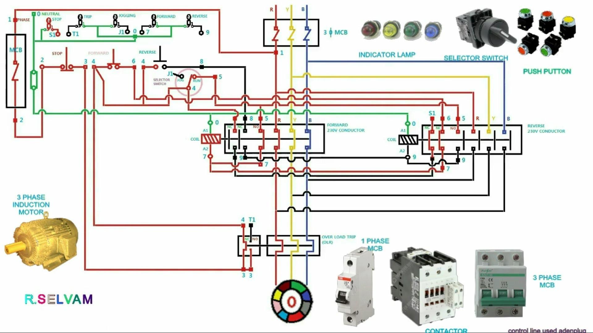 Contactor Wiring Diagram Start Stop Pdf