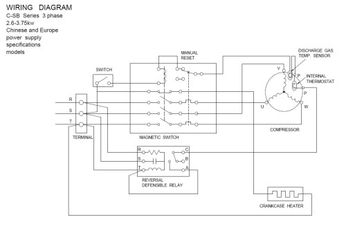 small resolution of copeland compressor wiring diagram download wiring diagram for copeland pressor wiring condensing unit embraco terminal