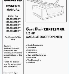 craftsman 1 2 hp garage door opener wiring diagram download craftsman garage door opener wiring [ 1112 x 1584 Pixel ]