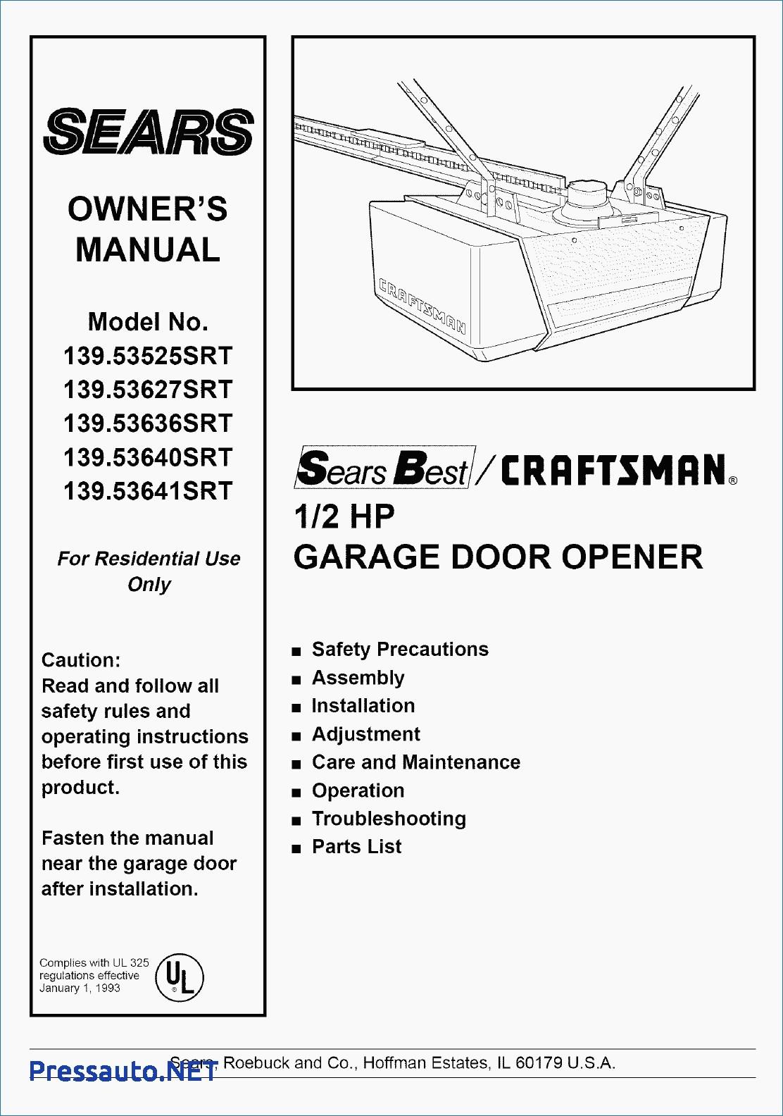 hight resolution of craftsman 1 2 hp garage door opener wiring diagram download craftsman garage door opener wiring