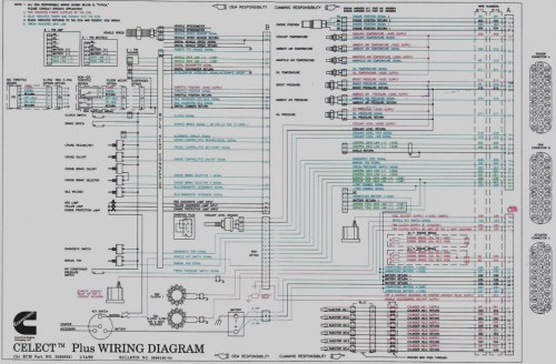 small resolution of cummins m11 ecm wiring diagram download new n14 celect wiring diagram cummins engine plus 16