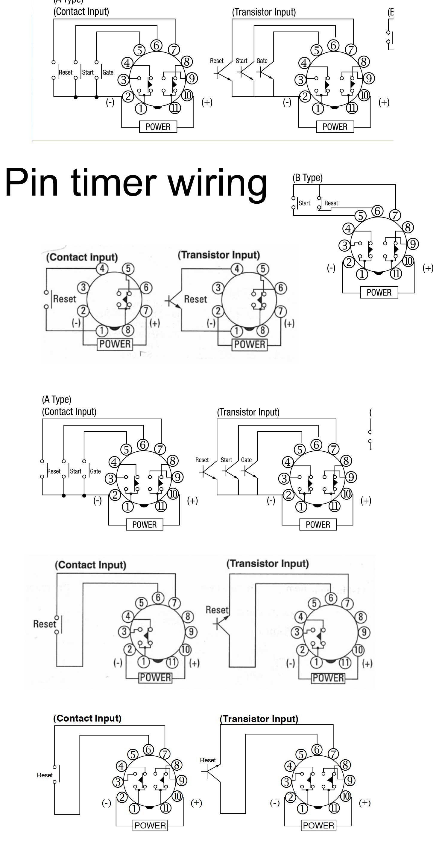 11 pin timer relay wiring diagram 2009 pt cruiser fuse dayton time delay download