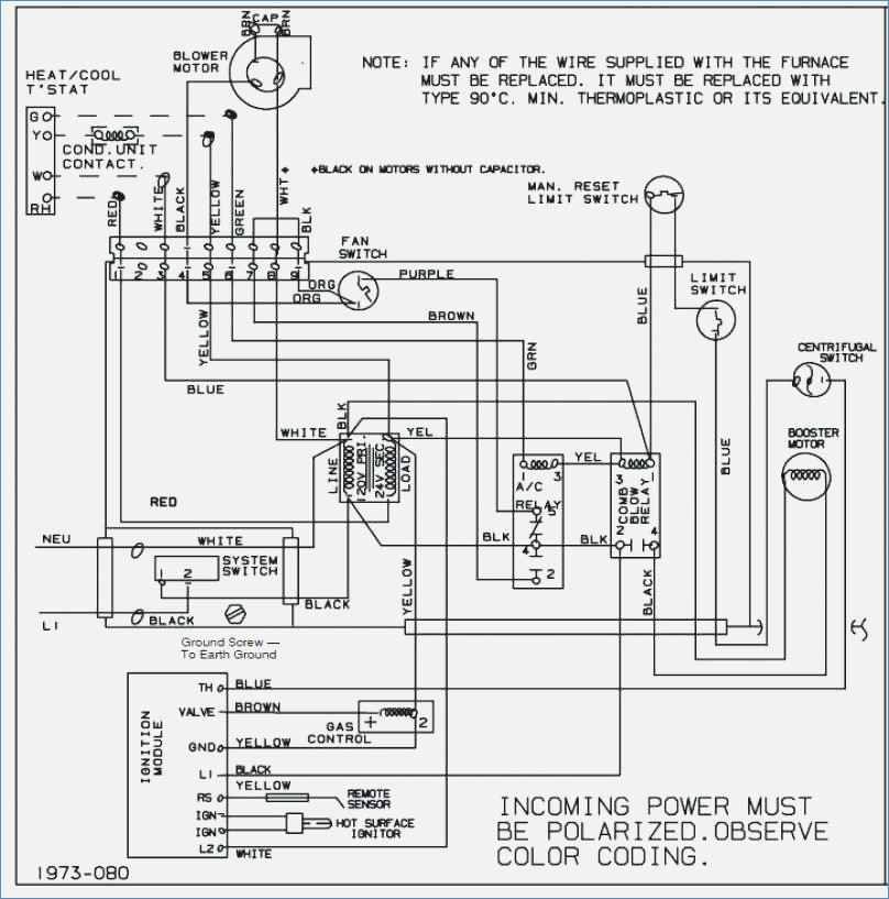 thermostat wiring for ac