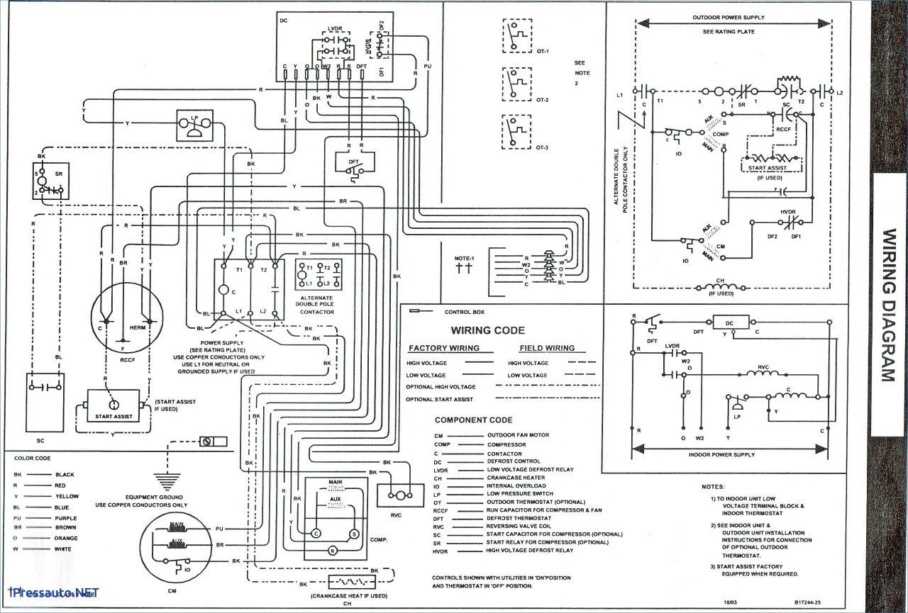 electric heat wiring diagram 4 pin trailer plug furnace download