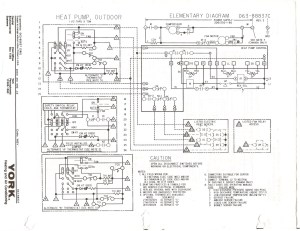 York Electric Furnace Wiring Diagram Collection   Wiring