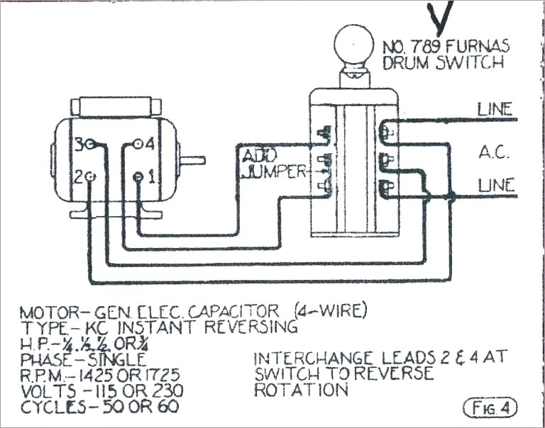 Electric Motor Reversing Switch Wiring Diagram Download