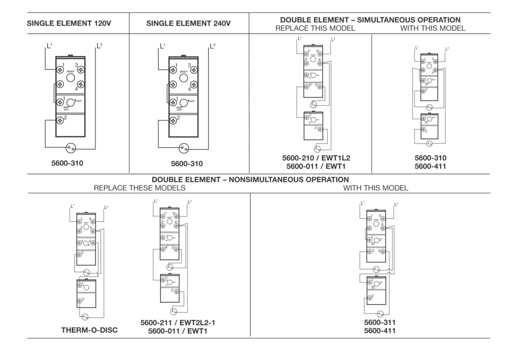 medium resolution of electric water heater thermostat wiring diagram collection thermostat wiring diagram unique electric water heater thermostat
