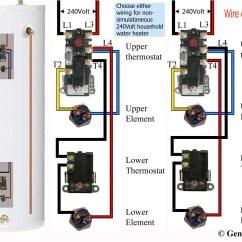Richmond Electric Water Heater Thermostat Wiring Diagram Orbit Fan Switch Sample