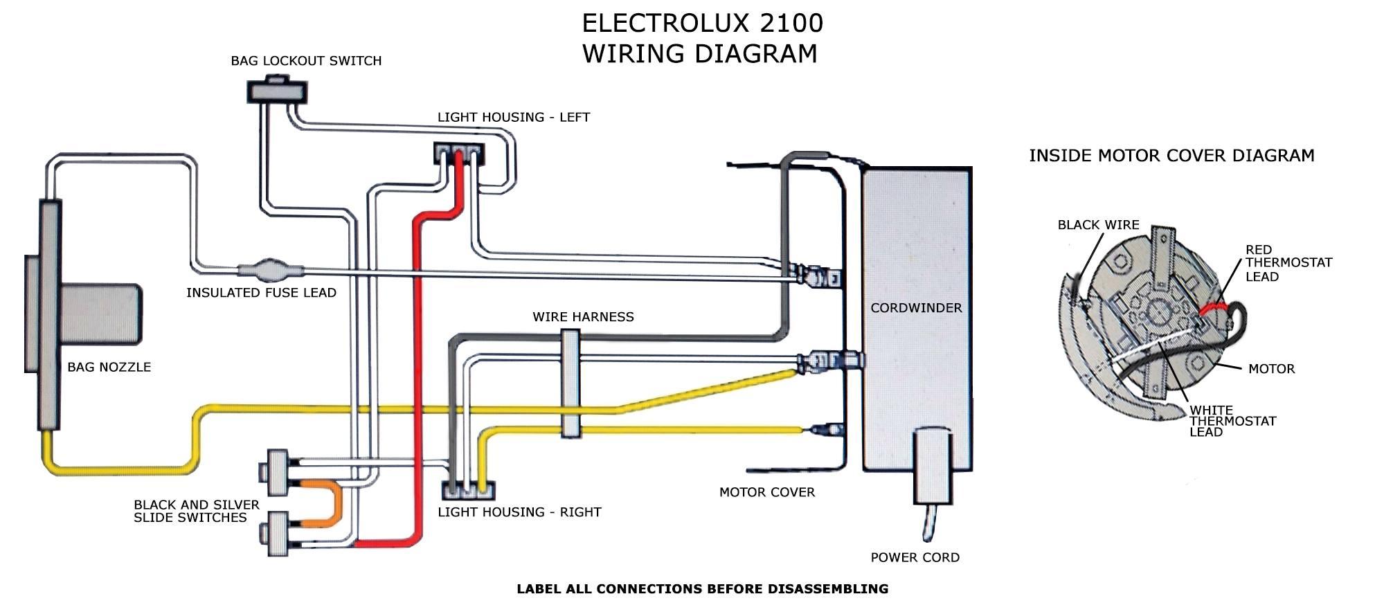 oreck wiring diagram wiring diagram Oreck Vacuum Wiring Diagram