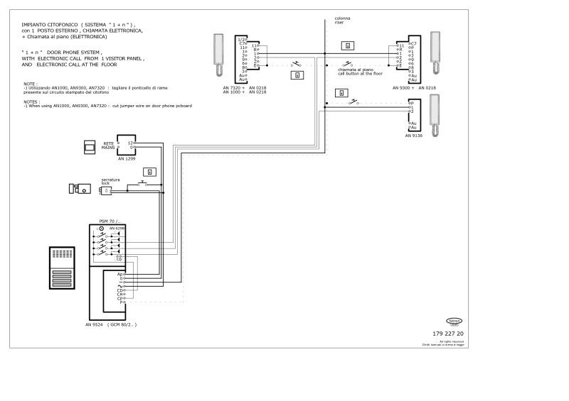 Bticino Door Entry Wiring Diagram Free Download • Playapk.co