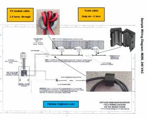 Enphase Micro Inverter Wiring Diagram Sample | Wiring