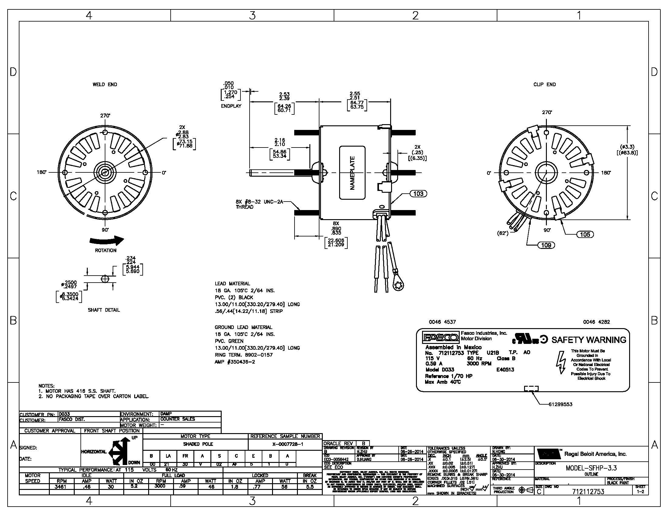 schematic diagram of shaded pole motor - impremedia.net fasco d7909 wiring diagram #1