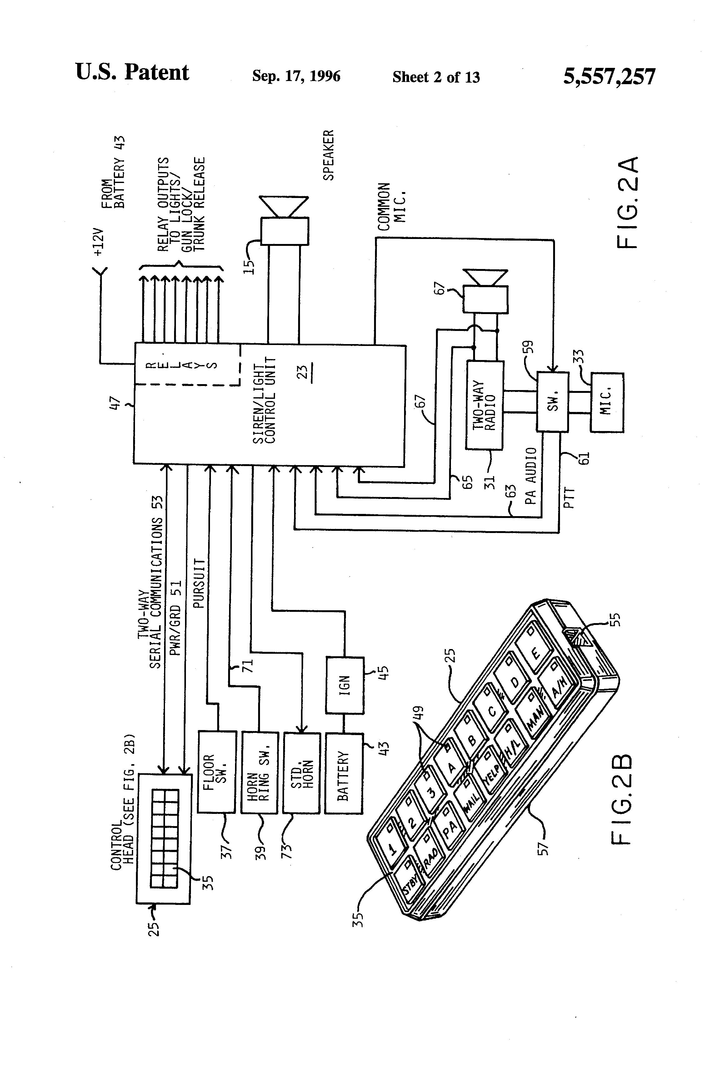 whelen light bar wiring diagram