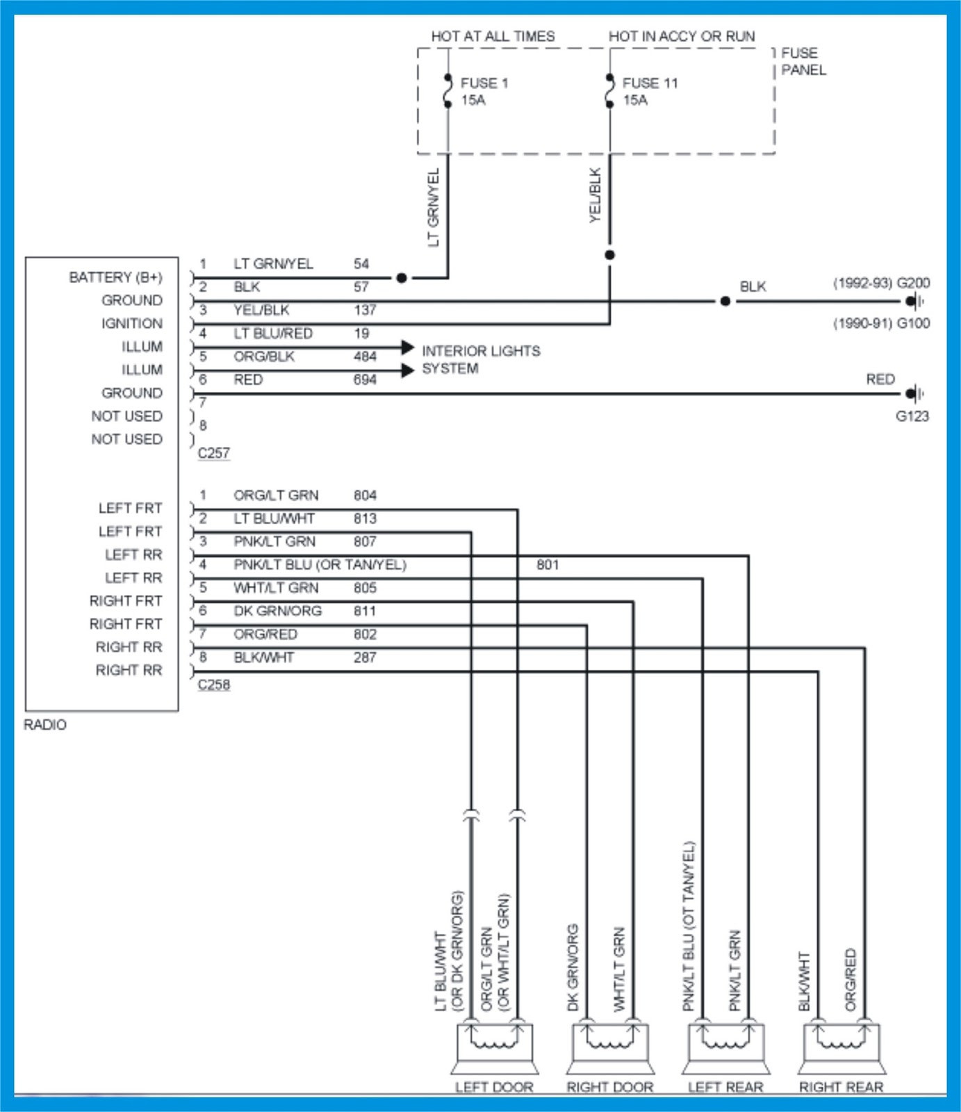 hight resolution of 1999 ford e150 stereo wiring manual e book 1999 ford e350 stereo wiring diagram