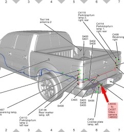 ford f150 backup camera wiring diagram download ford f 150 parts diagram contemporary f 150 [ 1600 x 1175 Pixel ]