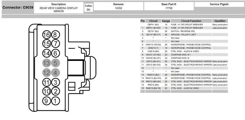 on waeco reversing camera wiring diagram