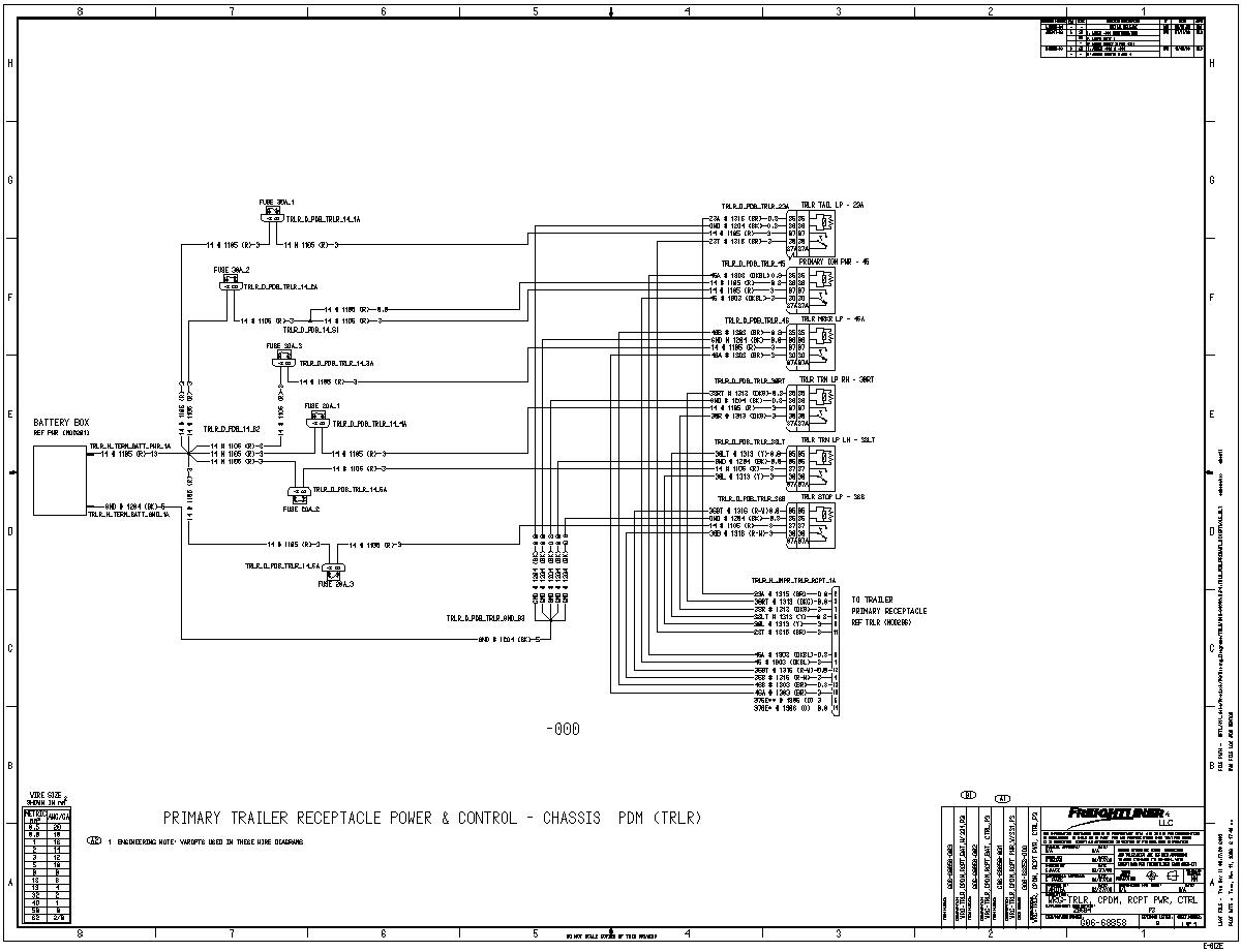 freightliner century cl wiring diagram