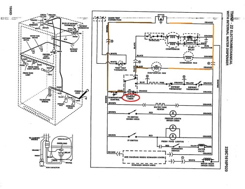 small resolution of whirlpool refrigerator diagram wiring diagram used whirlpool refrigerator assembly repair whirlpool refrigerator wiring diagram wiring diagram