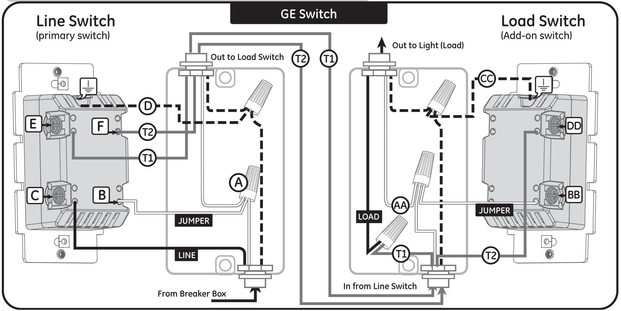 Ge Dimmer Switch Wiring Diagram Blogs And Schematic Box Gm Simple Schema Wire