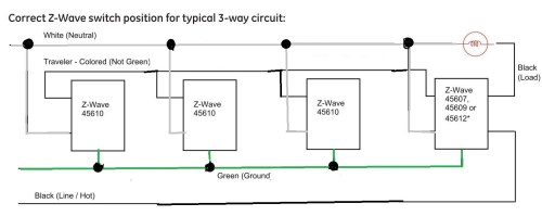 small resolution of ge z wave 4 way switch wiring diagram