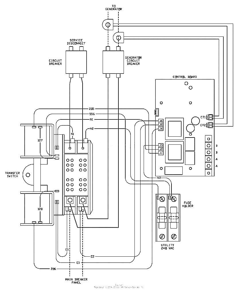 Generac Home Generator Wiring Diagram | Whole House Generator Wiring Diagram |  | Wiring Diagram