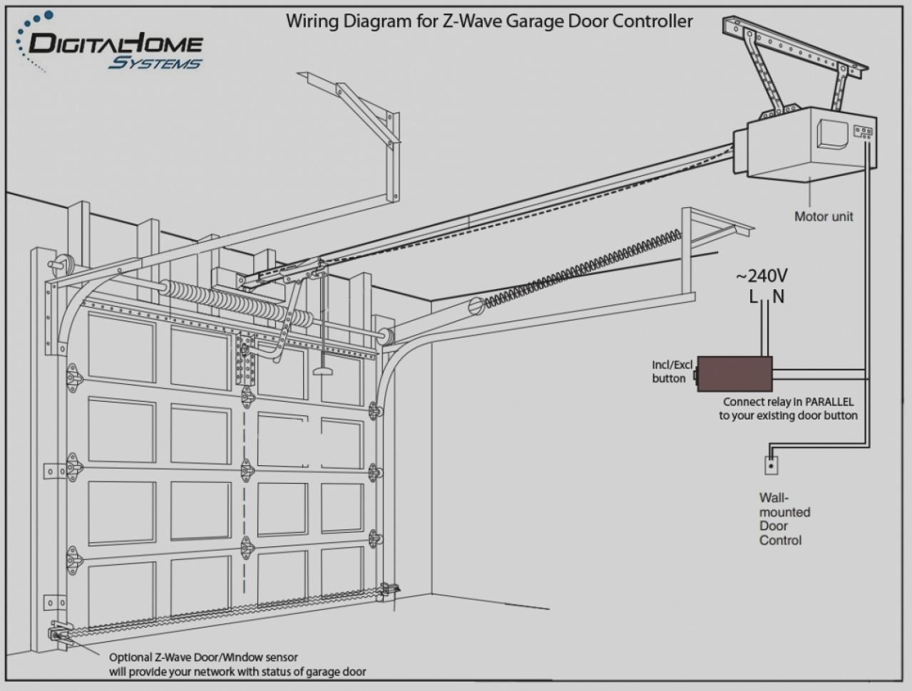 Genie Garage Door Opener Sensor Wiring Diagram Gallery