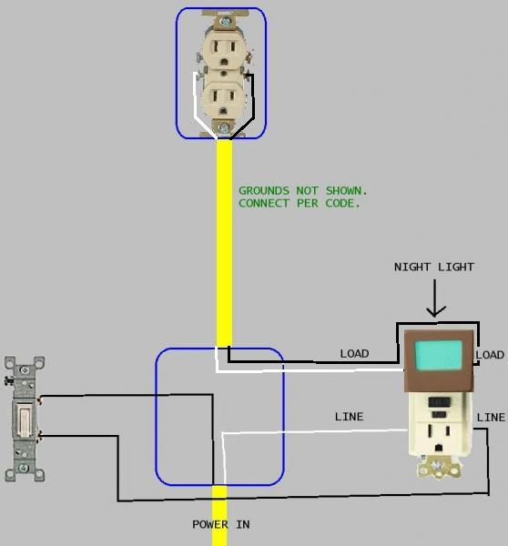 ground fault wiring diagram usb gfci outlet with switch sample download how to install a 4 wires pics detail name