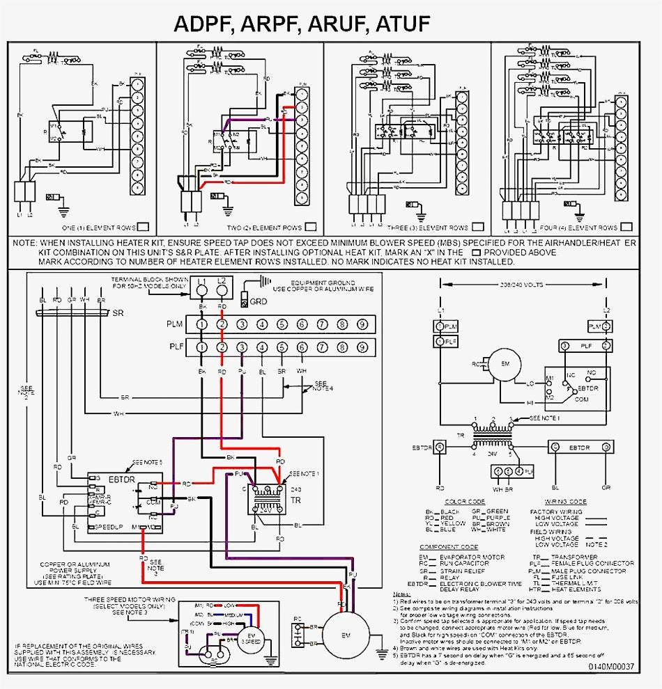 medium resolution of goodman air handler wiring schematic diagram