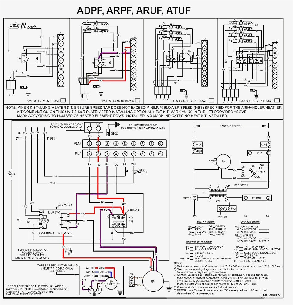 hight resolution of goodman air handler wiring schematic diagram