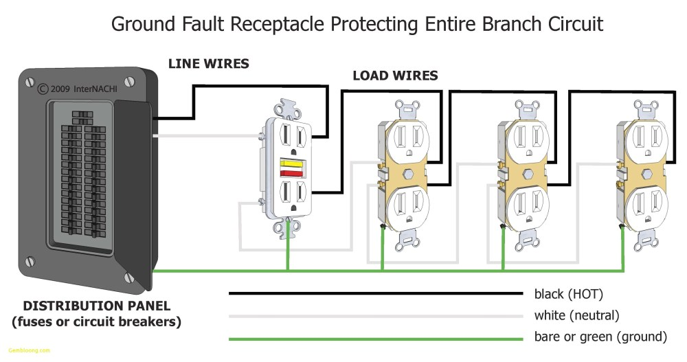 medium resolution of ground fault receptacle wiring diagram download wiring diagram for a gfci outlet refrence wiring gfi download wiring diagram
