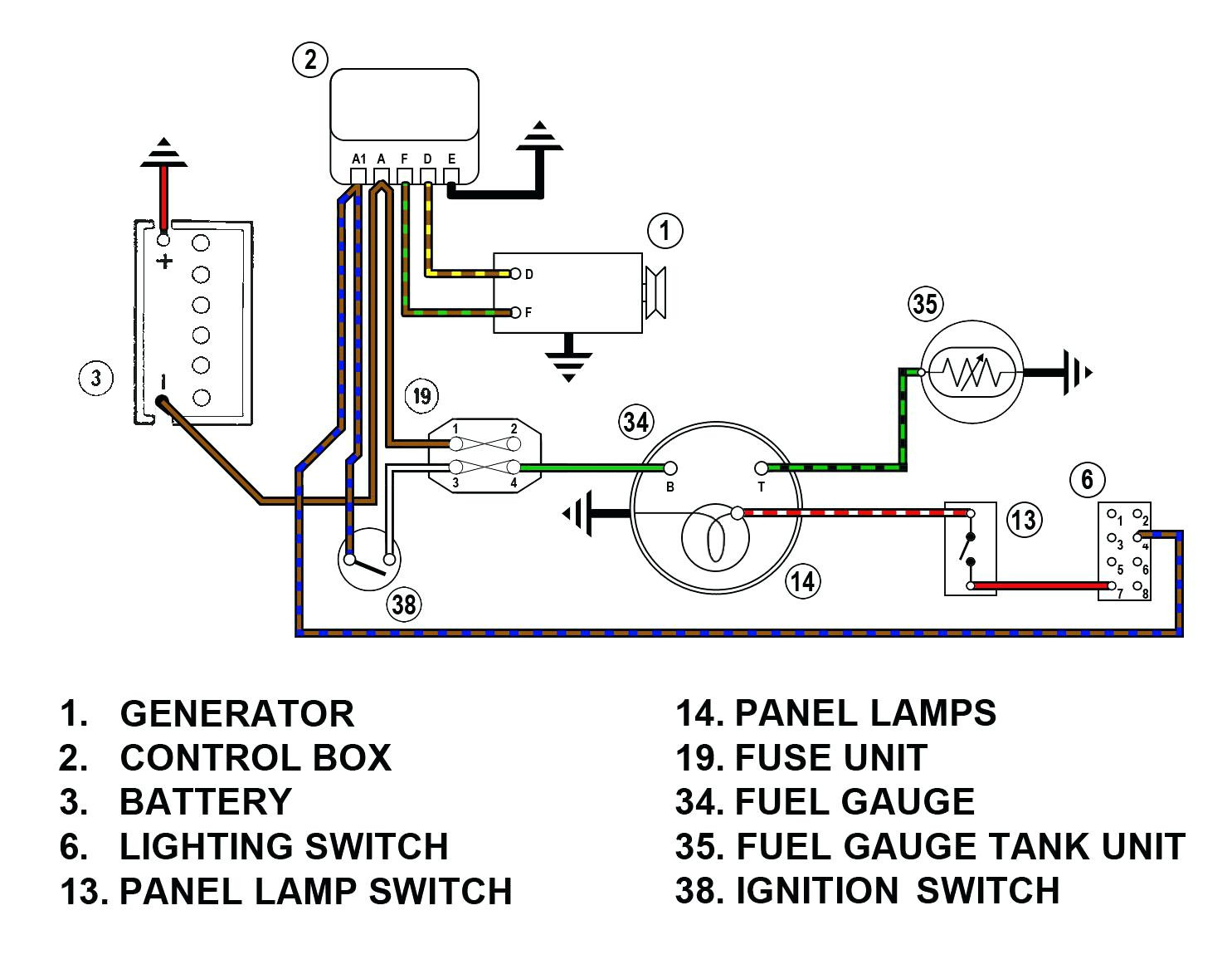 Vdo Fuel Gauge Wiring Diagram Vdo Gauges Wiring Diagrams Darren